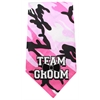 Mirage Pet Products Team Groom Screen Print Bandana Pink Camo