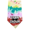 Mirage Pet Products Team Groom Screen Print Bandana Tie Dye