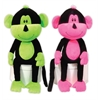 Mirage Pet Products Neon Monkeys Pet Toy Set