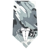 Mirage Pet Products Tuxedo Screen Print Bandana Grey Camo