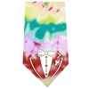 Mirage Pet Products Tuxedo Screen Print Bandana Tie Dye