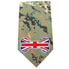 Mirage Pet Products UK Bone Flag Screen Print Bandana Digital Camo