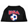 Mirage Pet Products USA Soccer Screen Print Shirt Black XXL (18)