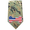 Mirage Pet Products America Bone Flag Screen Print Bandana Digital Camo