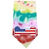 Mirage Pet Products America Bone Flag Screen Print Bandana Tie Dye