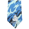 Mirage Pet Products Wedding Crasher Screen Print Bandana Blue Camo