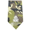 Mirage Pet Products Wedding Crasher Screen Print Bandana Green Camo