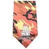 Mirage Pet Products Wedding Crasher Screen Print Bandana Orange Camo
