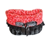 Mirage Pet Products Red Western Reversible Snuggle Bugs Pet Bed, Bag, and Car Seat All-in-One