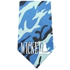 Mirage Pet Products Wicked Screen Print Bandana Blue Camo