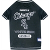 Mirage Pet Products Chicago White Sox Baseball Dog Shirt Large