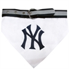 Mirage Pet Products New York Yankees Dog Bandana Collar Small