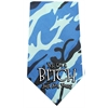 Mirage Pet Products Yes I'm a Bitch Screen Print Bandana Blue Camo