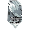 Mirage Pet Products You come sit stay Screen Print Bandana Grey Camo