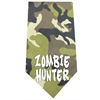 Mirage Pet Products Zombie Hunter Screen Print Bandana Green Camo