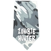 Mirage Pet Products Zombie Hunter Screen Print Bandana Grey Camo