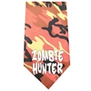 Mirage Pet Products Zombie Hunter Screen Print Bandana Orange Camo