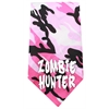 Mirage Pet Products Zombie Hunter Screen Print Bandana Pink Camo