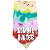Mirage Pet Products Zombie Hunter Screen Print Bandana Tie Dye