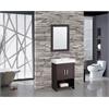 """MTD Vanities Greece 24"""" Single Sink Bathroom Vanity Set, Espresso"""