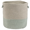 Sunbrella Coastal Sea 15x15x16 Basket