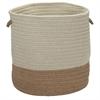 Sunbrella Coastal Alpaca 15x15x16 Basket