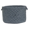 "Boston Common - Winter Blues 18""x12"" Utility Basket"