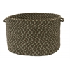 "Colonial Mills Boston Common - Moss Green 14""x10"" Utility Basket"