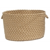 "Brook Farm - Tea Stained 14""x10"" Utility Basket"