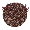 Brook Farm - Burgundy Chair Pad (single)