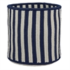 "Baja Stripe Basket - Navy 14""x14""x12"" Storage Basket"