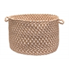 "Colonial Mills Blokburst - Natural Wonder 14""x10"" Storage Basket"