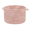"Colonial Mills Blokburst - Tea Party Pink 14""x10"" Utility Basket"