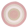 Colonial Mills Blokburst - Tea Party Pink 4' round