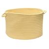 """Colonial Mills Boca Raton - Pale Banana 14""""x10"""" Utility Basket"""