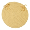 Boca Raton - Pale Banana Chair Pad (set 4)