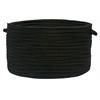 "Boca Raton - Black 14""x10"" Utility Basket"