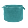 "Colonial Mills Boca Raton - Teal 18""x12"" Utility Basket"