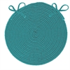 Colonial Mills Boca Raton - Teal Chair Pad (single)