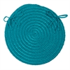 Colonial Mills Boca Raton - Turquoise Chair Pad (single)
