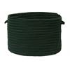 "Colonial Mills Boca Raton - Dark Green 18""x12"" Utility Basket"