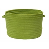 "Boca Raton - Bright Green 14""x10"" Utility Basket"