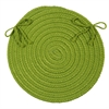 Boca Raton - Bright Green Chair Pad (set 4)