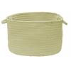 "Colonial Mills Boca Raton - Celery 14""x10"" Utility Basket"
