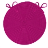 Colonial Mills Boca Raton - Magenta Chair Pad (single)