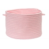 "Boca Raton - Light Pink 18""x12"" Utility Basket"