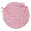 Boca Raton - Light Pink Chair Pad (single)