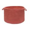 "Colonial Mills Boca Raton - Terracotta 18""x12"" Utility Basket"