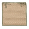 Boat House - Olive Chair Pad (single)