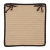Boat House - Brown Chair Pad (single)